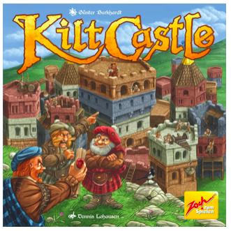 """Zoch Brettspiel """"Kilt Castle"""" (ab 10 Jahre) für 13,36€ (Vergleich: 23€)"""