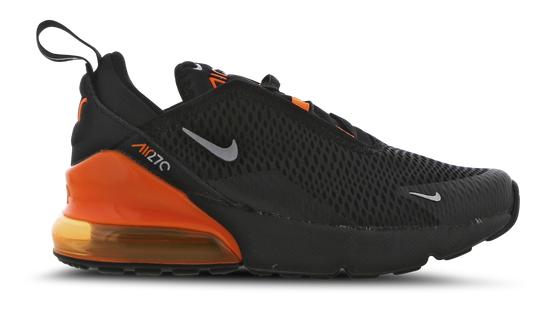 Nike Air Max 270 in schwarz-orange Vorschule Schuhe zu 59,99€inkl. Versand (statt 90€)