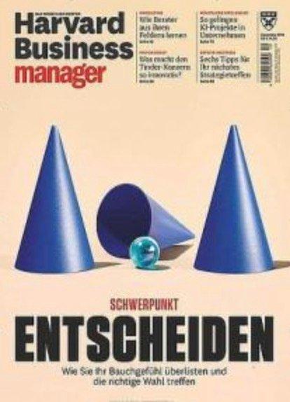 Harvard Business Manager Jahresabo für 169€ + z.B. 130€ Bestchoice Gutschein