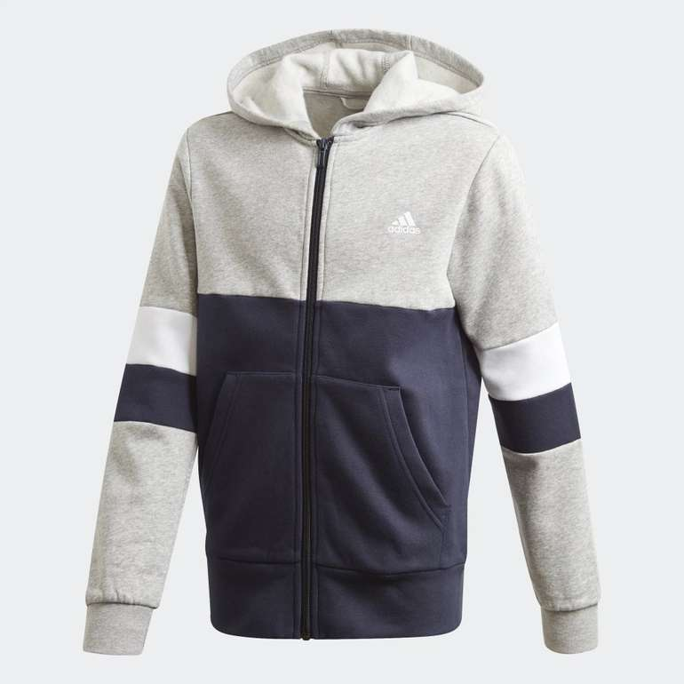 Adidas Linear Colorblock Jungen Kapuzenjacke in 2 Farben für je 20,47€ inkl. Versand (statt 36€) - Creators Club!