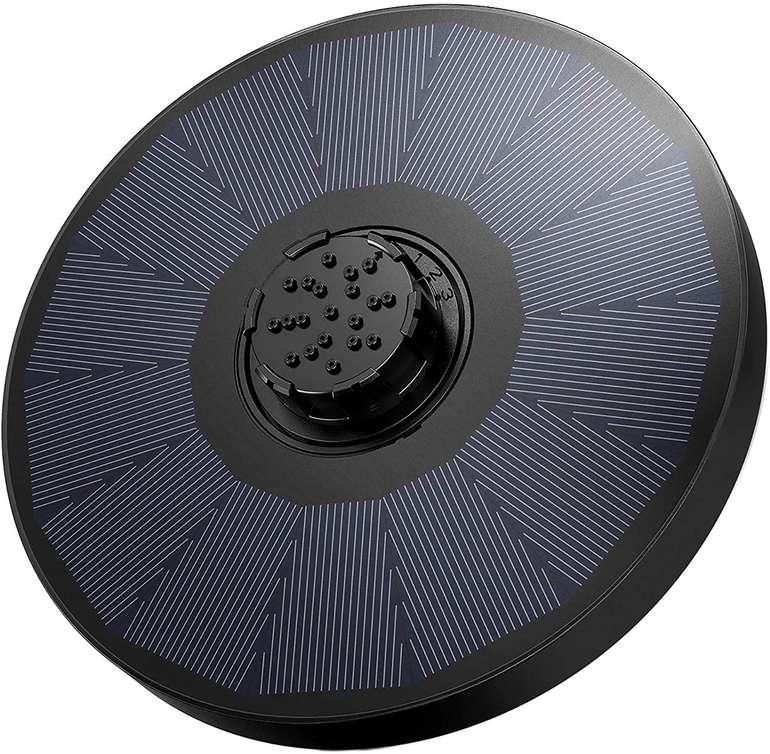 Omorc Solar Wasserpumpe (2W, 4-in-1 Düse) für 6,99€ inkl. Prime Versand (statt 17€)