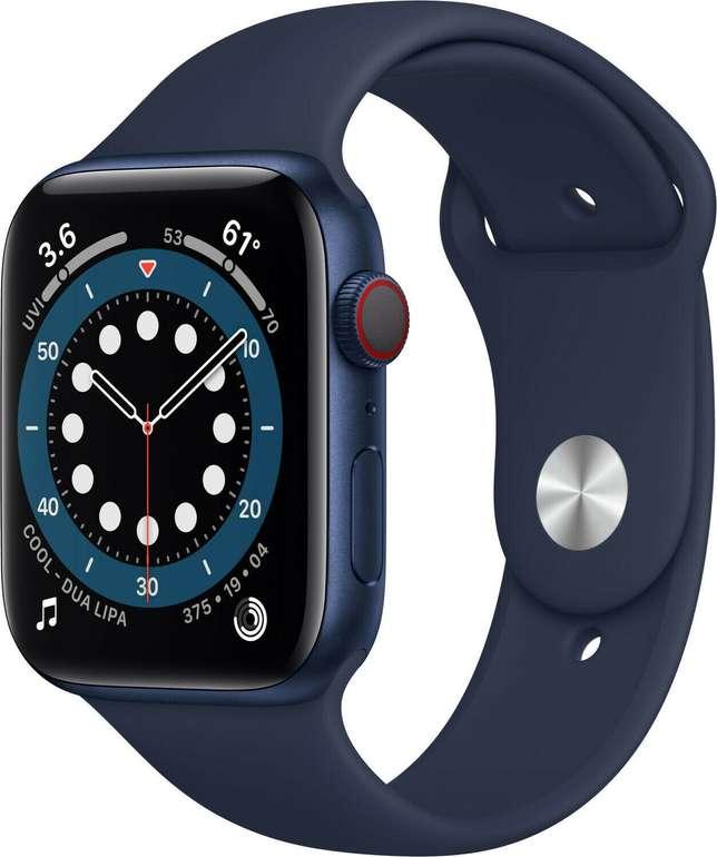 Apple Watch Series 6 (GPS + LTE) in 44mm mit Sportarmband für 449€ inkl. Versand (statt 499€) - B-Ware!