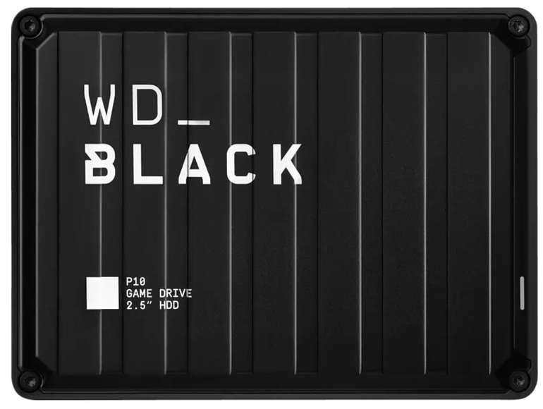 Western Digital Black P10 Game Drive mit 5TB Speicher für 99,99€ inkl. Versand (statt 133€) - Newsletter Gutschein!