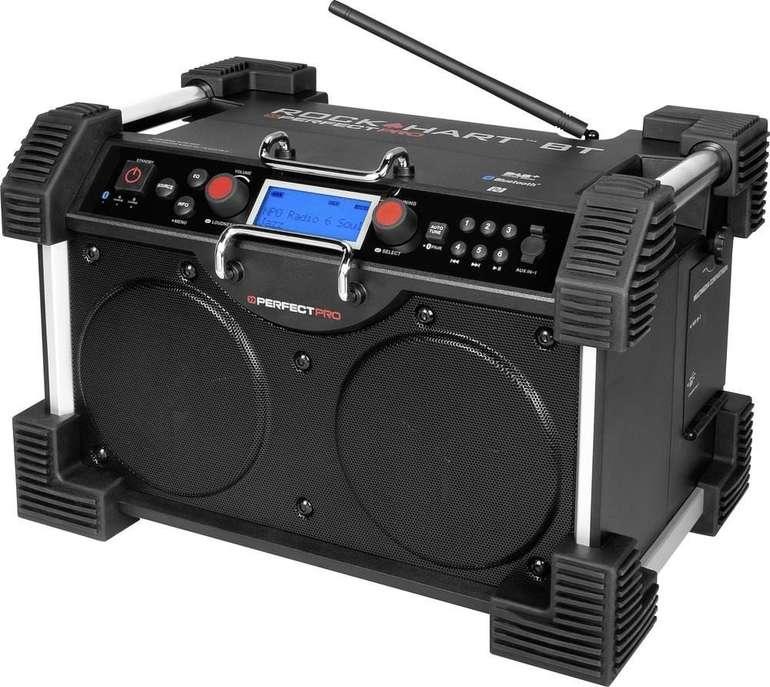 "PerfectPro Rockhart BT ""RHB3"" - Bluetooth Baustellenradio für 362€ inkl. Versand (statt 420€)"