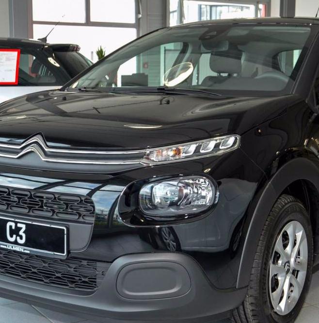 Gewerbe-Leasing: Citroën C3 PureTech 82 Feel für 39€ mtl. (LeasingFaktor: 0,26)