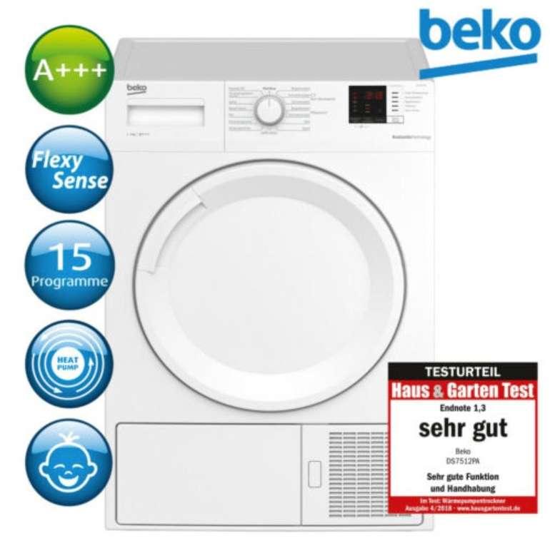 Beko DS7512PA Wärmepumpentrockner mit 7kg Volumen für 359,91€ inkl. Versand (statt 399€)