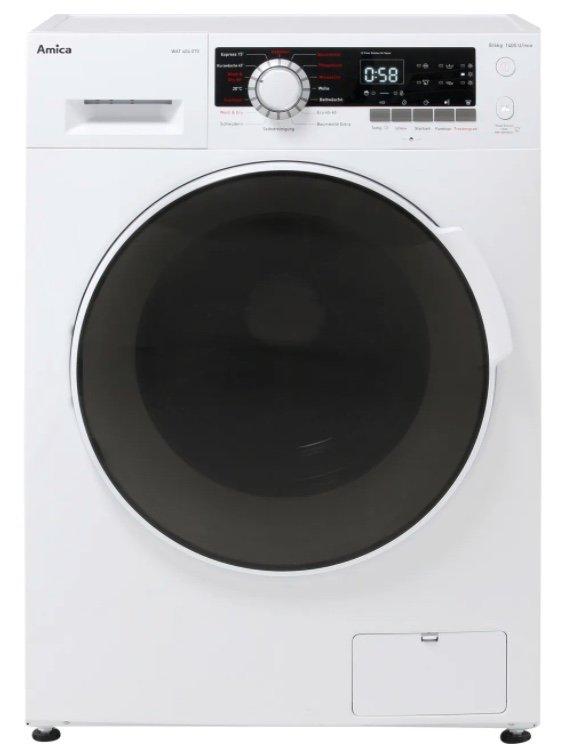 AO.de: 40€ Rabatt auf ausgewählte Waschgeräte - z.B. Amica WAT 404 070 Waschtrockner für 489€ (statt 539€)