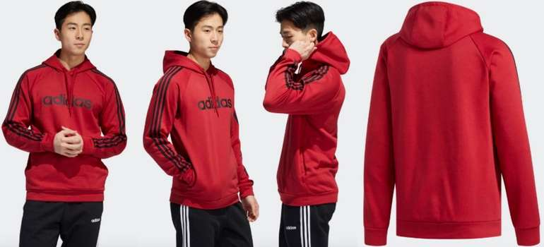 Adidas M 3S LIN FL P:O Hoodie 2