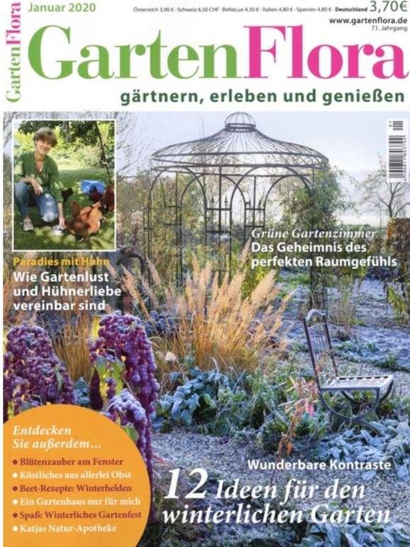 3 Ausgaben GartenFlora für 5,95€ inkl. Versand - keine Kündigung nötig!