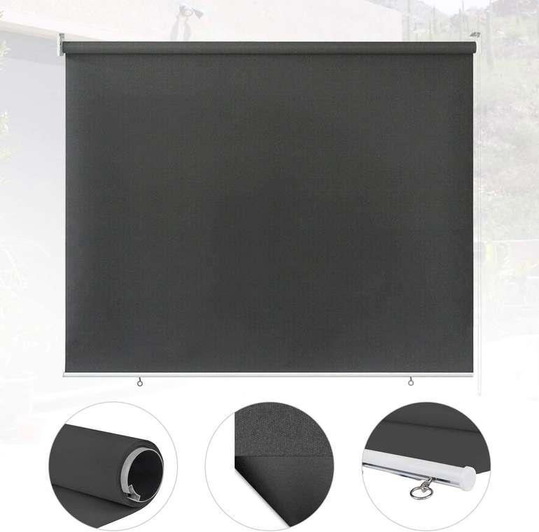 Einfeben Senkrechtmarkise für Außen (Windschutz, Sonnenschutz und Sichtschutz) z.B.: 180 x 240 cm für 27,99€