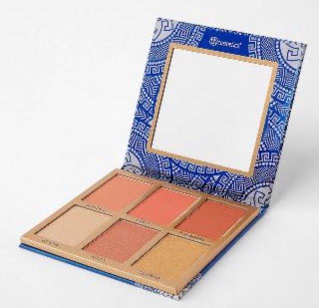 BH Cosmetics mit 25% Rabatt auf Countour & Highlighter Paletten - z.B. Glowing in Greece für 12€ (statt 16€)