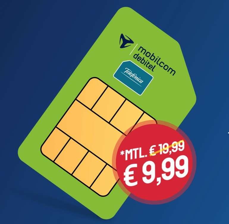 Sparhandy SIM-Only MD Deal: o2 Allnet-Flat mit 12GB LTE50, VoLTE und WiFi Call für 9,99€ mtl. (mtl. kündbar!)