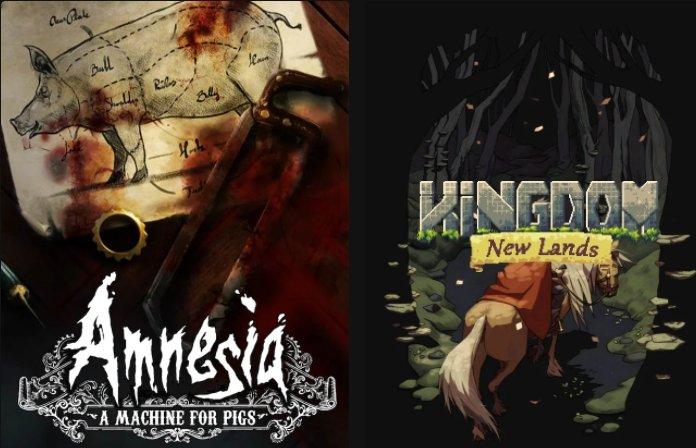 Epic Games Store: Amnesia: A Machine for Pigs & Kingdom New Lands kostenlos herunterladen