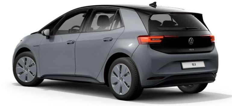 Privatleasing mit Schwerbehindertenausweis: Volkswagen ID.3 ID3 Pure Performance mit 150 PS für 139€ mtl. (BAFA, LF: 0.44, Bereitstellung: 590€)