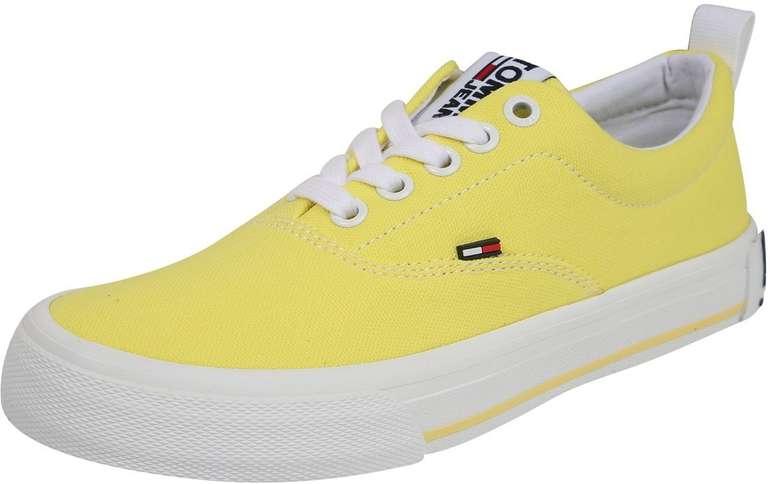 Tommy Jeans Sneaker 'Virginia 1D3' in gelb (Größe 40-42) für 33,54€ inkl. Versand (statt 65€)