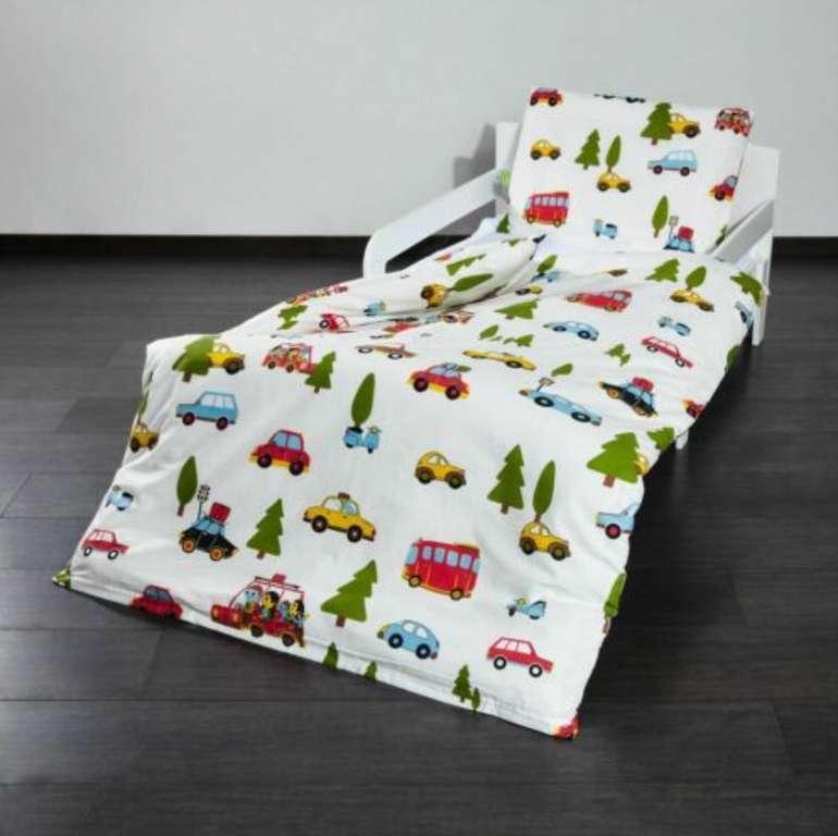Lumaland Baby- & Kinderbettwäsche (100 x 135cm) mit Reißverschluß aus Baumwolle für 3,99€ (statt 20€)