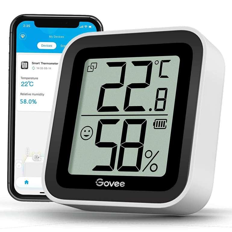 Govee Bluetooth Thermo- bzw. Hygrometer für 9,59€ inkl. Prime Versand (statt 12€)