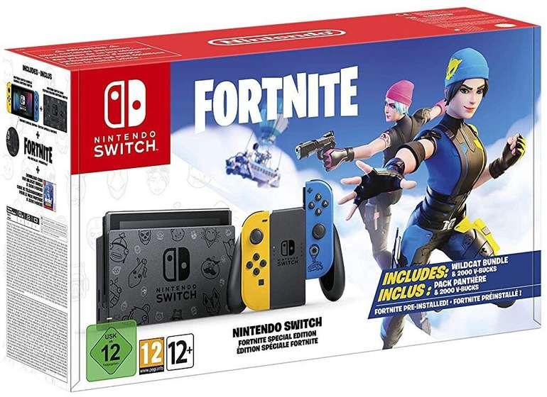 Nintendo Switch Fortnite Special Edition für 314,10€ inkl. Versand (statt 359€)