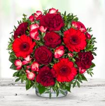 Lidl Blumen mit 20% auf alles - z.B. Sträuße für Valentinstag oder Geburtstag
