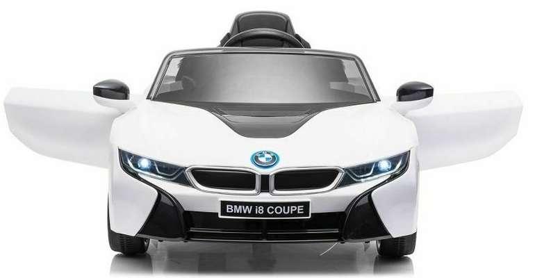 Lizenz Kinder Elektro Auto - BMW i8 Coupe 2x 35W 2.4G RC für 159€ inkl. Versand (statt 209€)