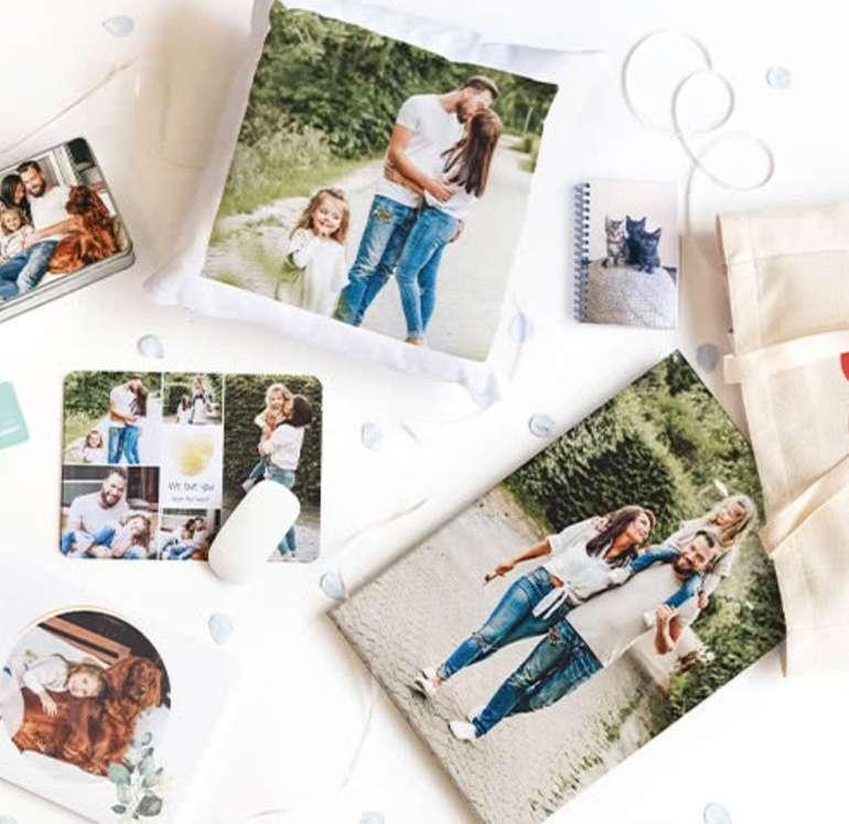 SmartPhoto: Early Bird Weihnachtsgeschenke - 40% Rabatt auf Fotos, Poster, Kissen, Taschen, Lunch Boxen, uvm.