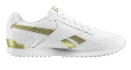 Reebok Royal Glide Ripple Clip Damen Sneaker in weiß-gold für 28,06€ inkl. Versand (statt 66€)