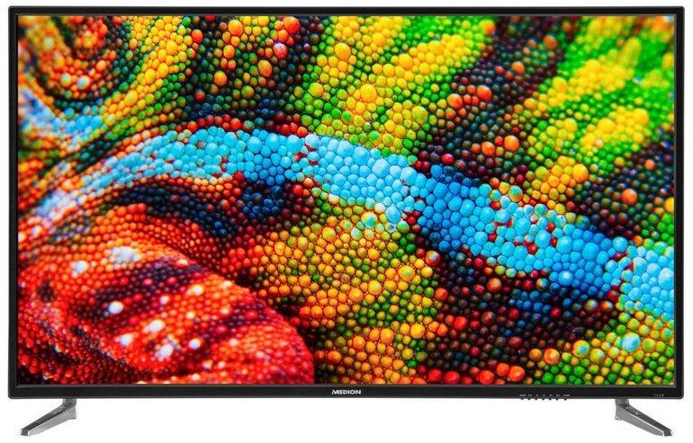 """Medion P15500 55"""" UHD TV mit Triple Tuner & PVR für 319,95€ inkl. Versand"""