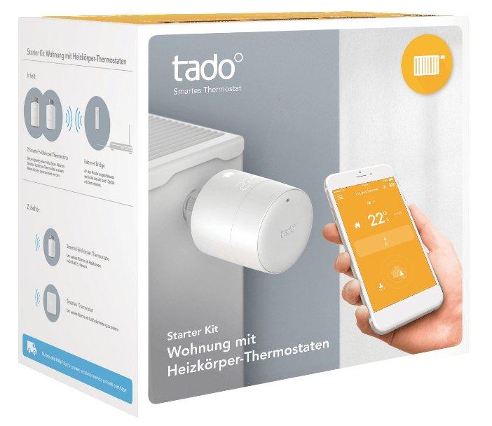 2er Pack tado Heizkörperthermostate mit HomeKit Unterstützung für 129€