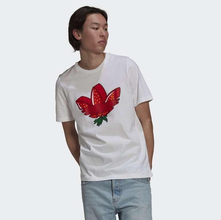 Adidas Strawberry Trefoil Herren T-Shirt für 13,44€ (statt 28€) - Creators Club