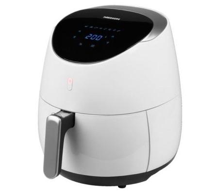 Medion MD 18290 - Digitale 4,5 Liter Heißluftfritteuse für 79,99€ (statt 110€)