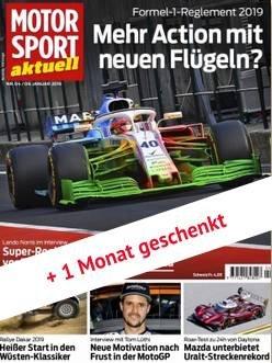 """Jahresabo der Zeitschrift """"Motorsport Aktuell"""" für 24,95€ (statt 140€)"""