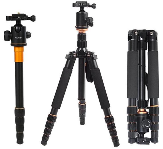 Andoer Q 666 Pro SLR Kamera-Stativ für 39,19€ inkl. Versand (statt 56€)