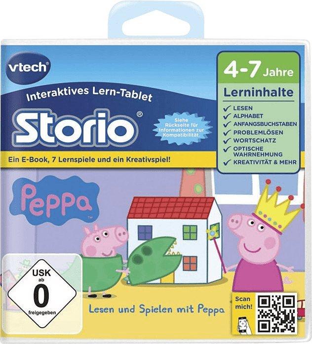 Vtech Storio 2 - Lernspiel Peppa Pig für 21,85€ inkl. Versand (statt 27€)