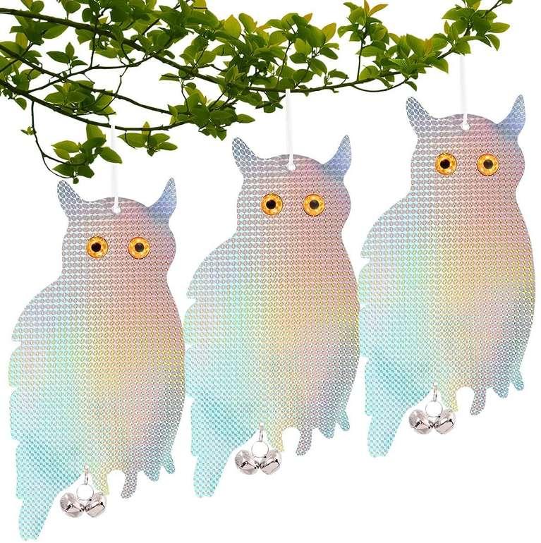 Admay 3er Pack reflektierender Vogelschreck für 6,74€ inkl. Prime Versand (statt 15€)