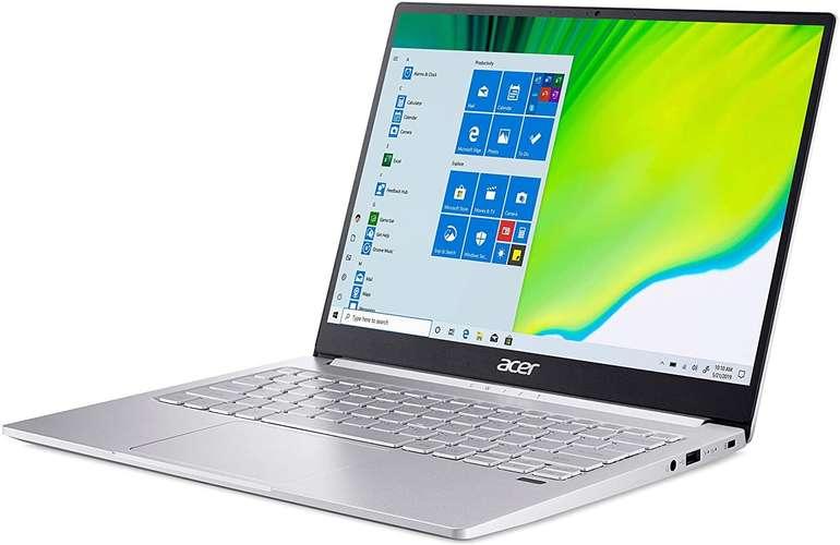 "Acer Swift 3 SF313-52-55UT - 13,5"" Notebook (IPS, i5, 16GB RAM, 1TB SSD, bel. Tas., Alu) für 805,99€ inkl. Versand"