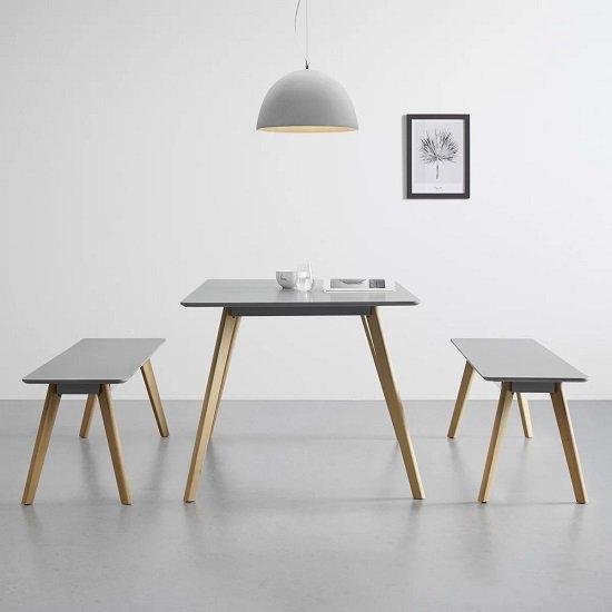 Bessagi Home Esstisch Frieda (160cm x 90cm) für 127,25€