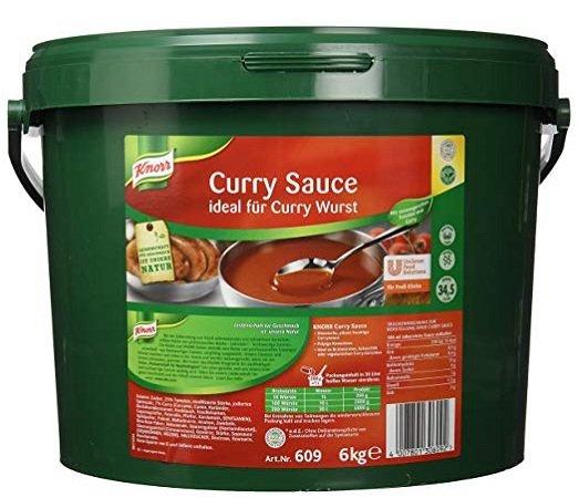 6kg Knorr Curry Sauce Eimer - ideal für Wurst für nur 14,81€ mit Prime