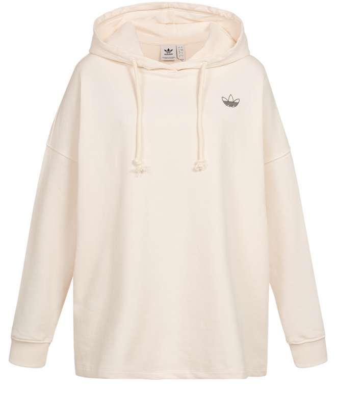 adidas Originals Graphic Oversize Damen Hoodie in Beige für 33,94€ inkl. Versand (statt 40€)