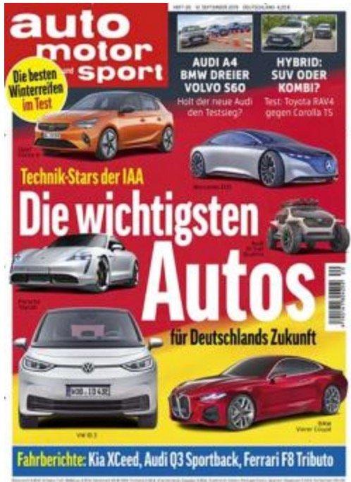 DPV Herbstkampagne: Abos mit guten Prämien - z.B. Auto Moto Sport für 99,90€ + 90€ Prämie