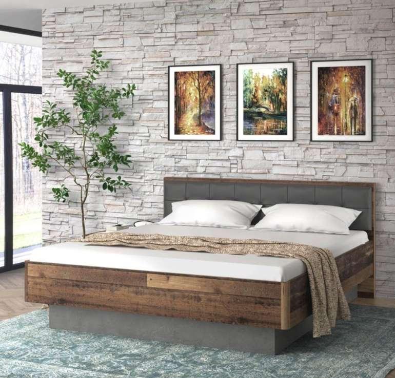 Doppelbett Clif (180 x 200 cm) für 310,91€ inkl. Versand (statt 350€)
