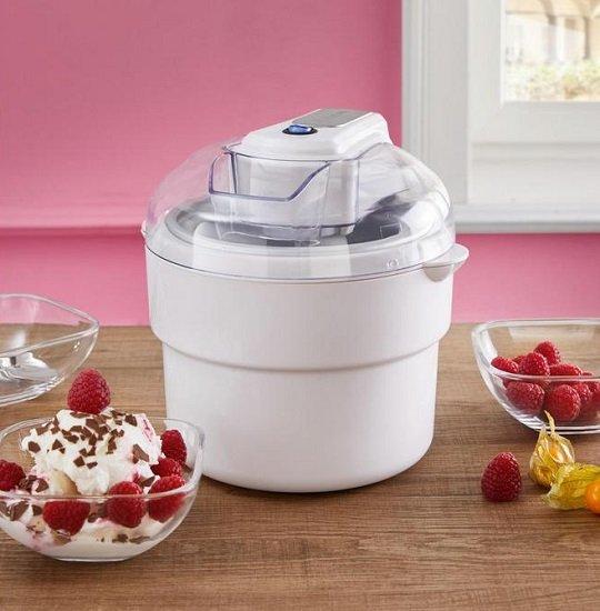 Clatronic ICM 3581 Eismaschine (1 Liter Behälter für das Eisfach) für 20,95€ (statt 30€)