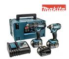 Makita Combo-Set DLX2131JX1 – Bohr-Schlagschrauber + 3 Akkus für 278,90€