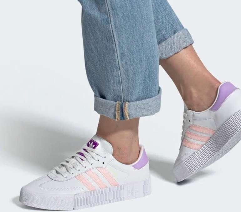 """Adidas Originals Sambarose Sneaker im """"Haze Coral""""-Colourway für 68,20€ inkl. Versand (statt 87€)"""