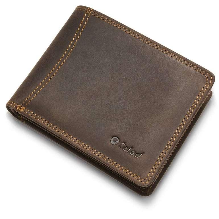 Taled Geldbeutel aus Büffelleder mit RFID-Schutz für 16,85€ inkl. Versand (statt 30€)