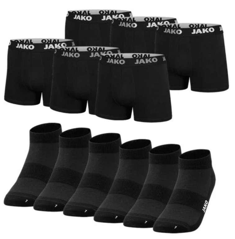 Jako Unterwäsche Set (6 Boxershorts + 6 Paar Socken) für 29,95€ inkl. Versand (statt 35€)