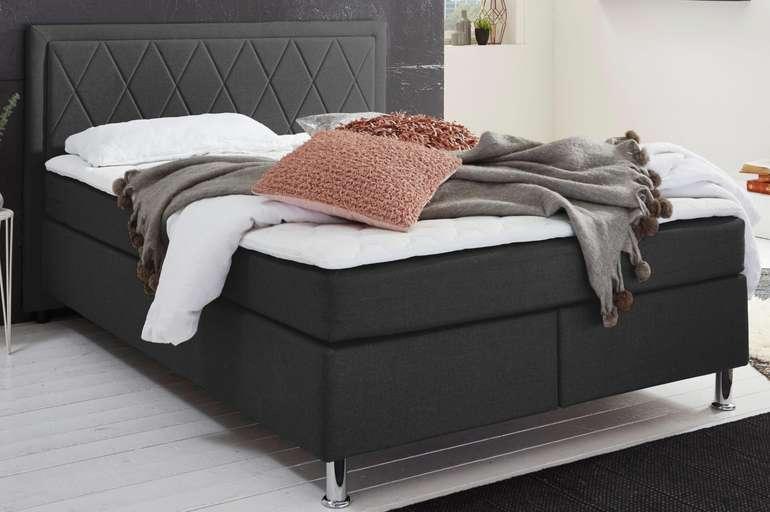 Atlantic Boxbett mit Tonnentaschenfederkern-Matratze und Topper (140 x 200 cm) für 412,44€inkl. Versand (statt 480€)