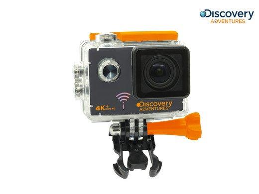 Discovery Adventures 4K-Action-Cam Pro mit WLAN für 40,90€ (statt 75€)