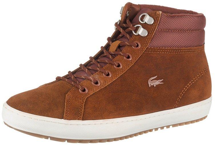 Lacoste Straight Set Insula Echtleder Herren Winter-Sneaker für 71,94€ (statt 83€)