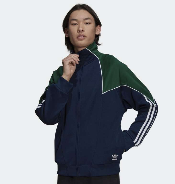 Adidas Big Trefoil Abstract Polyester Originals Jacke in 2 Farben für je 39,18€ inkl. Versand (statt 50€)