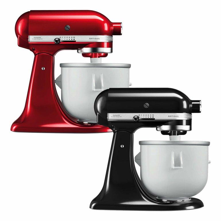 Bis Mitternacht: 10% auf ausgewählte Haushaltsgeräte bei eBay - z.B. KitchenAid Icecream Bundle für 341,91€ (statt 409€)